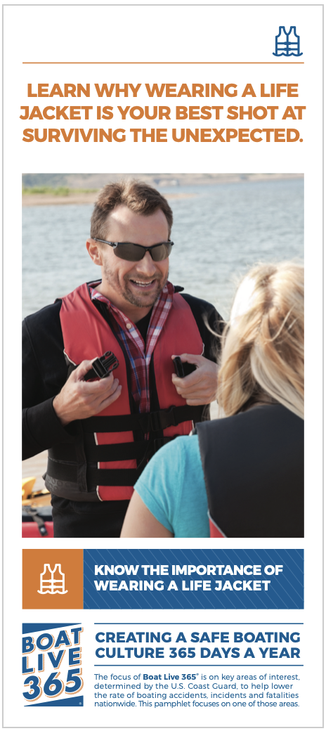 Life Jacket safety brochure cover