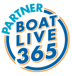 get on board, partner boat live 365 logo